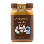 Mật ong Airborne Manuka Blend 25+ 500g - Mật ong New Zealand