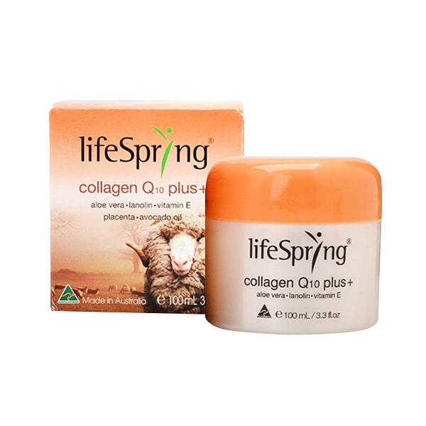Kem Dưỡng Da Chống Lão Hóa LifeSpring Collagen Q10 Plus 100ml