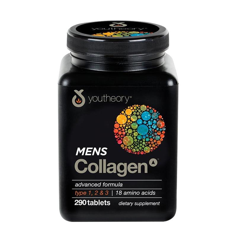 Collagen cho nam - Youtheory Mens Collagen 290 viên của Mỹ
