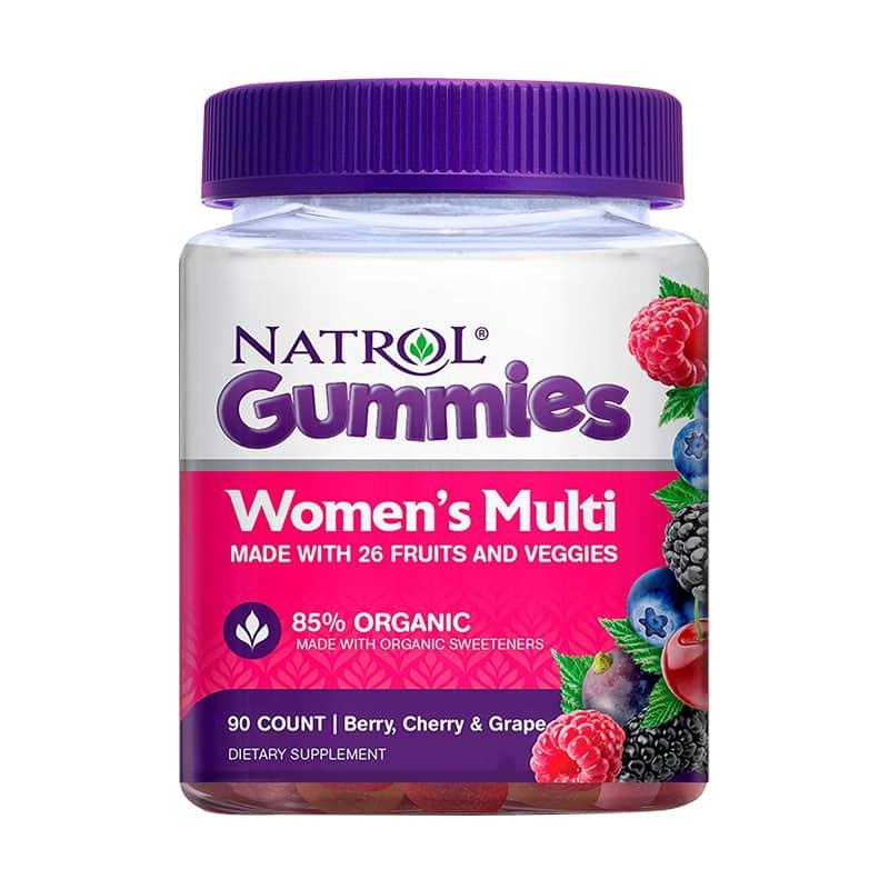 Kẹo dẻo vitamin cho phụ nữ Natrol Gummies Women's Multi