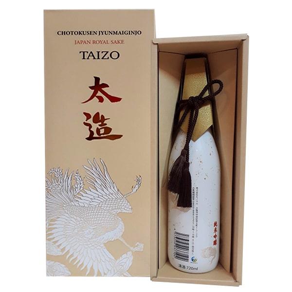 Rượu Taizo Japan Royal Sake - Rượu của hoàng đế Nhật, sang trọng
