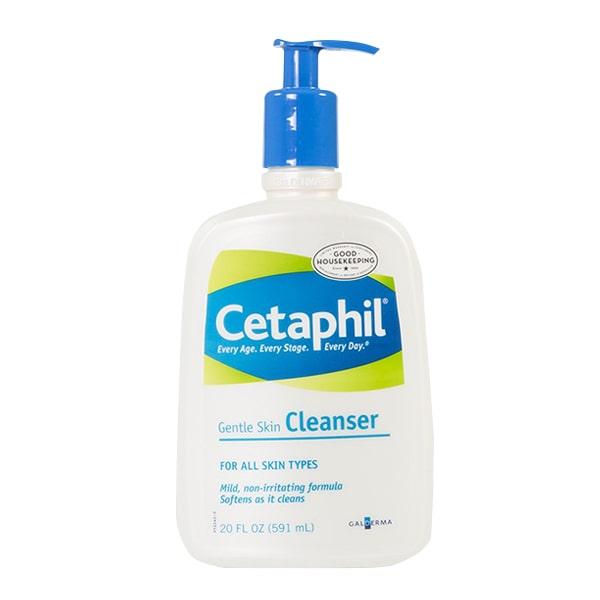 Sữa rửa mặt Cetaphil Gentle Skin Cleanser 591ml nhẹ dịu nhất