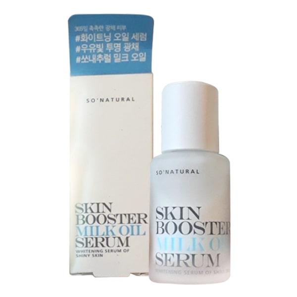 Tinh chất dưỡng trắng chuyên sâu Skin Booster Milk Oil Serum