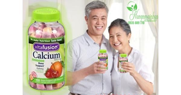 Kẹo dẻo vitamin của mỹ - bổ sung vitamin cho người lớn tuổi