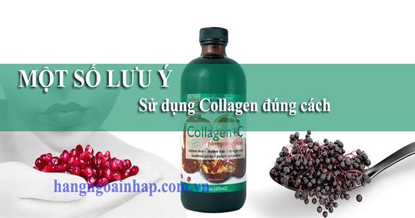 Một số lưu ý khi sử dụng Super Collagen Nhật Bản