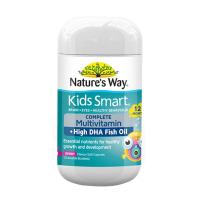 Nature's Way Kids Smart Complete Multi Vitamin & High DHA Fish Oil 50