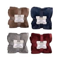 Chăn lông cừu KirkLand Plush Blanket Queen 248 x 233cm của Mỹ