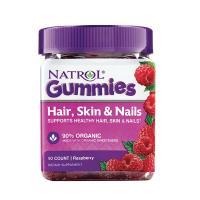 Kẹo dẻo Natrol Gummies Hair, Skin & Nails 90 viên ...