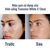 Viên uống Transino White C Clear 120 viên mẫu mới nhất 2018