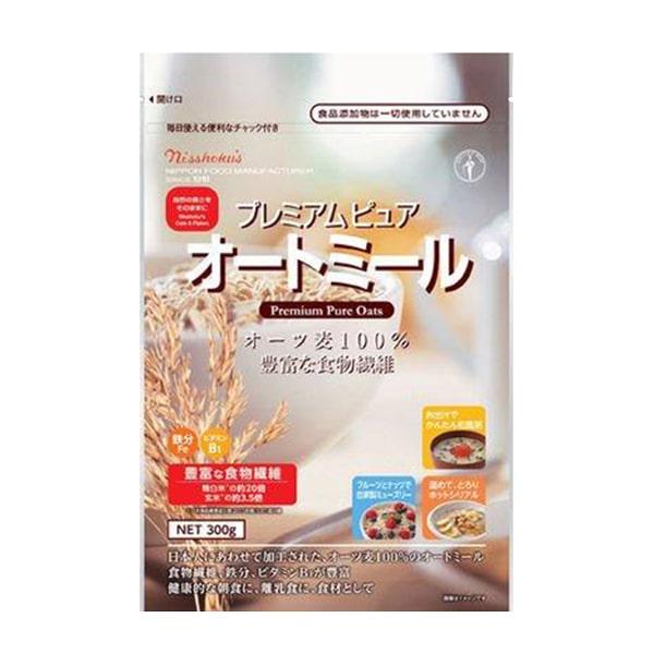 Bột yến mạch Nisshokus 300g mẫu mới của Nhật cho bé ăn dặm