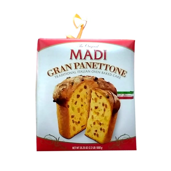 Bánh Madi Gran Panettone 1kg truyền thống của Ý