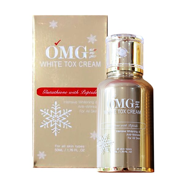 Kem truyền trắng OMG White Tox Cream 50ml Hàn Quốc