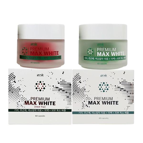 Viên uống trắng da Premium Max White Genie Hàn Quốc tốt nhất