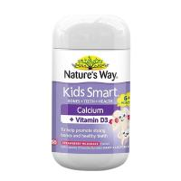 Kẹo dẻo Natures Way Kids Smart Calcium + Vitamin D3 Úc 50v