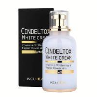 Kem dưỡng trắng Cindel Tox White Cream Incuheal 50ml Hàn