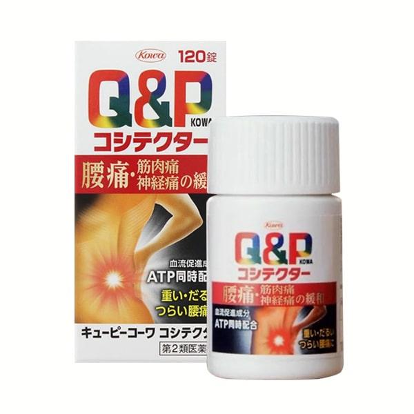 Viên uống đặc trị đau lưng Q&P Kowa Koshitekuta của Nhật Bản