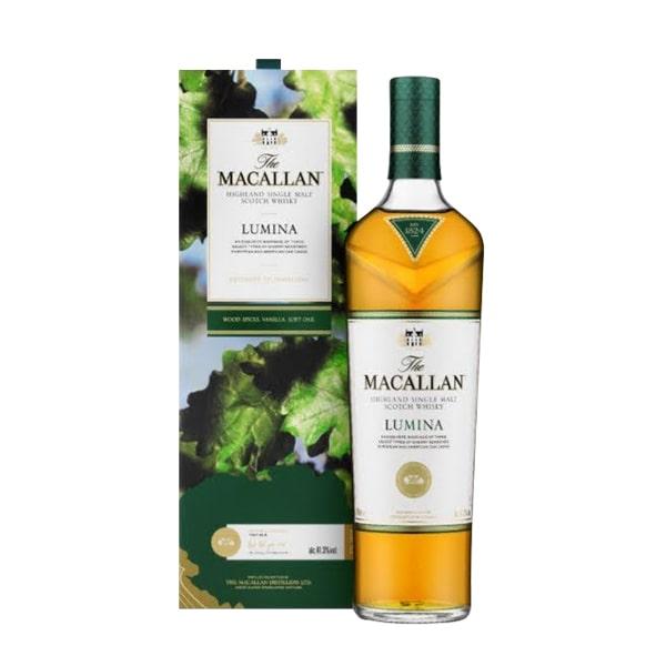 Rượu Macallan Lumina 700ml Scotland, rượu ngon trứ danh