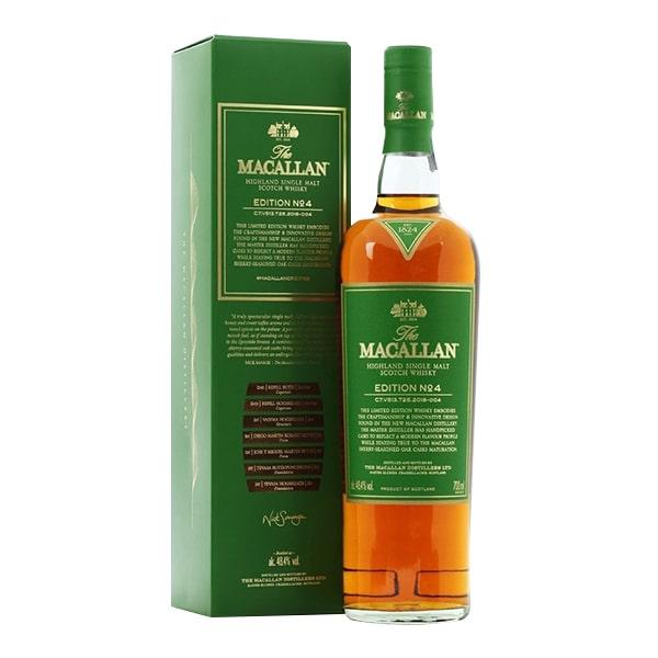 Rượu Macallan Edition No.4 Scotland chai 700ml chính hãng