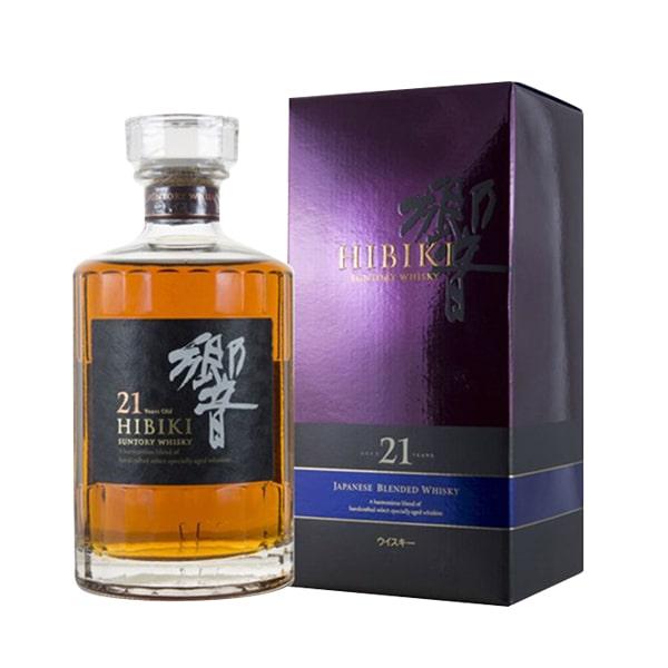 Rượu Hibiki 21 năm Nhật Bản, Hibiki 21 Suntory Whisky 700ml