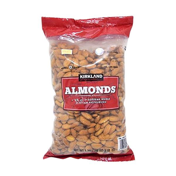 Hạt Hạnh Nhân Sấy Khô Kirkland Almonds Gói 1.36kg