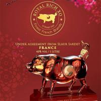 Rượu con heo Royal Rich XO Pháp, rượu heo Đông Hồ 2019