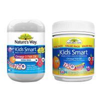 Kids Smart Omega 3 Fish Oil Trio 180 Viên Của Úc
