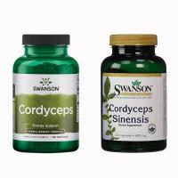 Đông Trùng Hạ Thảo Swanson Cordyceps Sinensis 120 ...