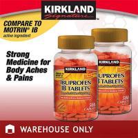 Viên giảm đau hạ sốt Kirkland Ibuprofen IB Tablets 500 viên