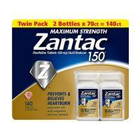 Viên uống hỗ trợ dạ dày Zantac 150mg Maximum Stren...