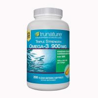 Dầu cá Omega 3 900mg Trunature Triple Strength 200...