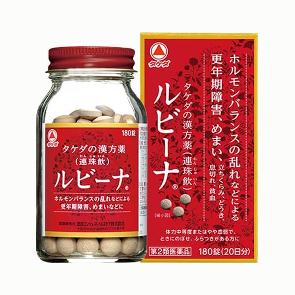 Viên uống bổ máu Rubina Nhật Bản hộp 180 viên chính hãng