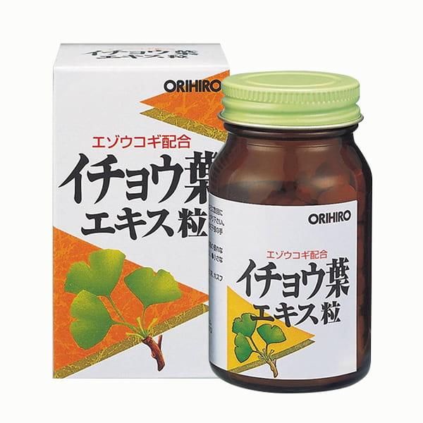 Viên uống bổ não Orihiro Ginkgo Biloba 240 viên Nhật Bản