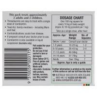 Thuốc tẩy giun Combantrin của Úc vị socola tiện dụng, hiệu quả