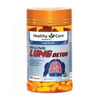 Viên uống giải độc phổi Healthy Care Original Lung Detox Úc
