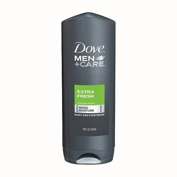 Sữa tắm và sữa rửa mặt Dove Men+ Care Extra Fresh 532ml