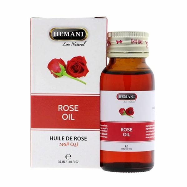 Tinh dầu hoa hồng Rose Oil Hemani chính hãng, chai 30ml