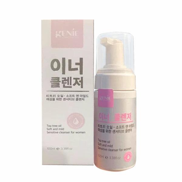 Dung dịch vệ sinh phụ nữ Genie Tea Tree Oil 100ml Hàn Quốc