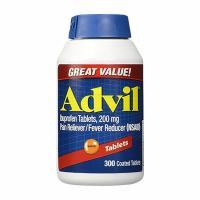 Thuốc giảm đau hạ sốt Advil của Mỹ hộp 300 viên