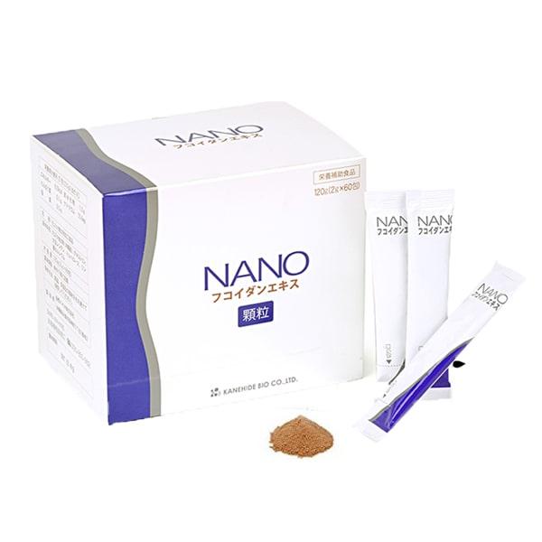 Nano Fucoidan Extract dạng bột của Nhật Bản, hộp 60 gói