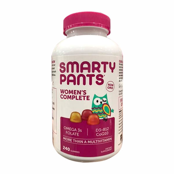 Kẹo dẻo vitamin cho phụ nữ Smarty Pants Women's Complete