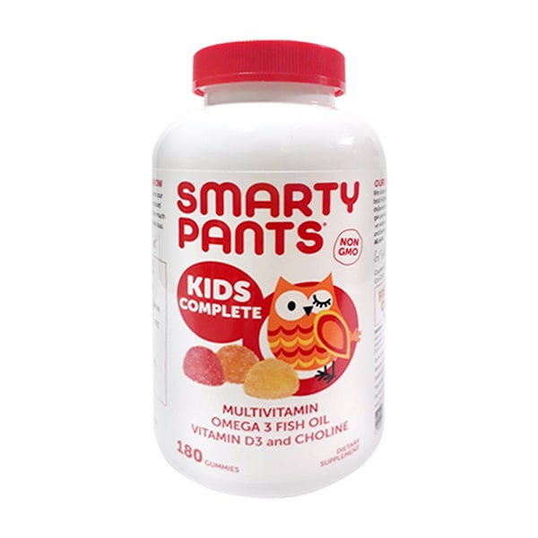 Kẹo dẻo vitamin cho bé Smarty Pants Kids Complete của Mỹ
