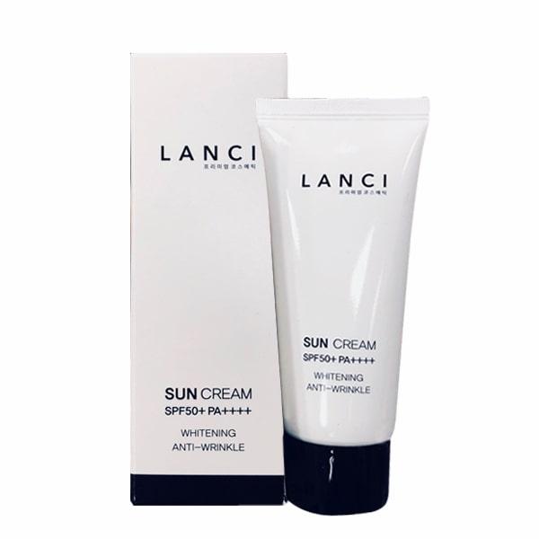 Kem chống nắng Lanci Sun Cream SPF50+ PA++++ Whitening
