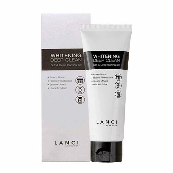 Sữa rửa mặt Lanci Whitening Deep Clean 100ml Hàn Quốc