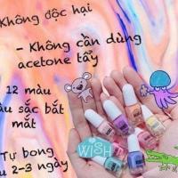 Set 12 lọ sơn móng tay cho bé Primark Nail Polish Pháp