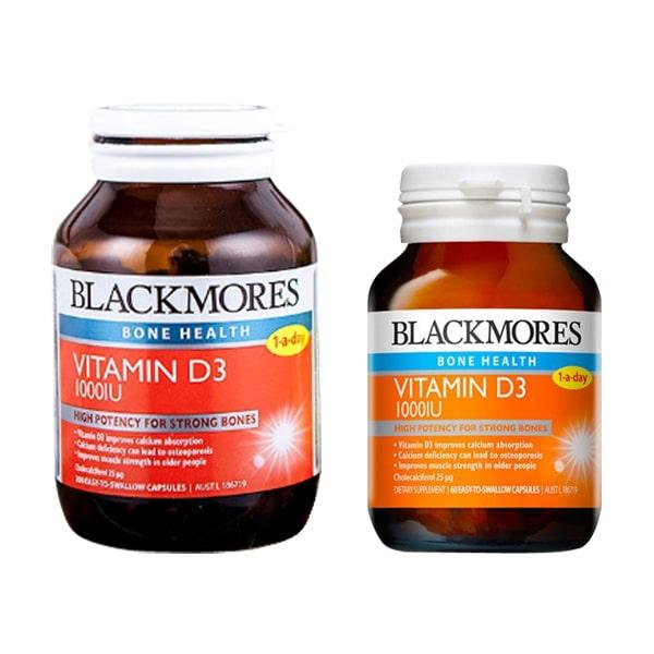 Viên Uống Vitamin D3 1000IU Blackmores Của Úc 60, 200 viên