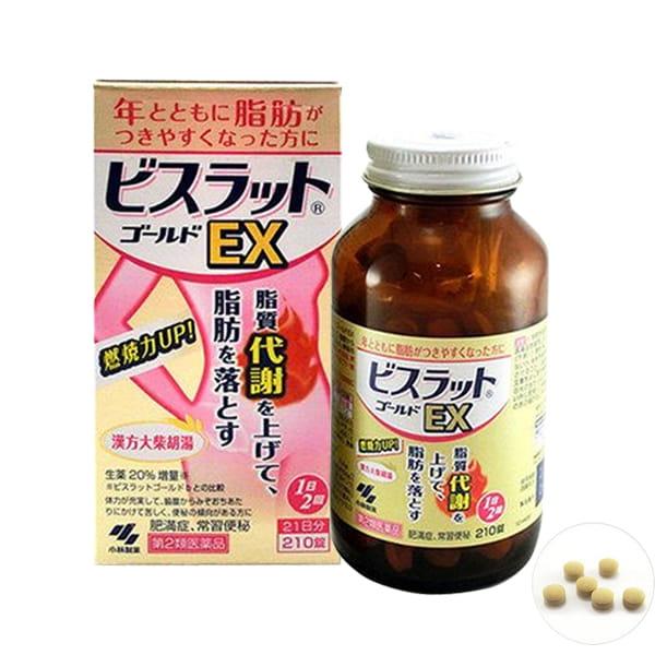 Thuốc giảm cân đốt mỡ thừa EX Kobayashi 210 viên Nhật Bản