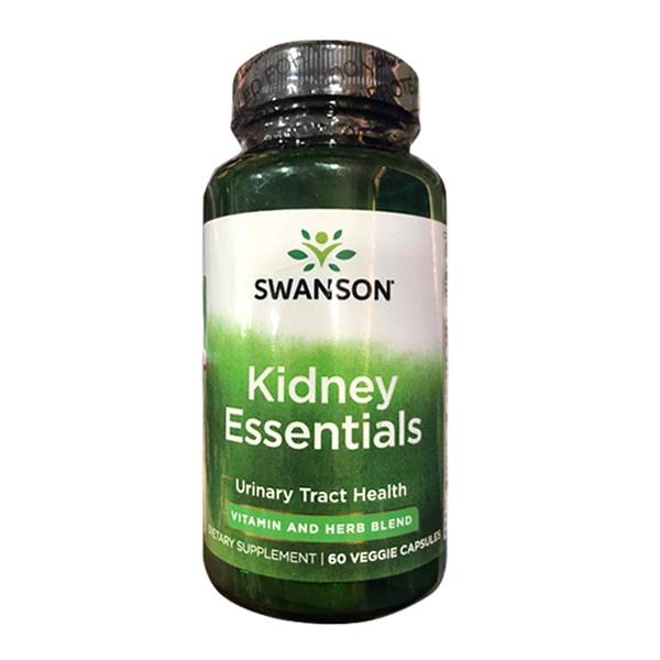 Viên uống bổ thận Swanson Kidney Essential 60 viên của Mỹ