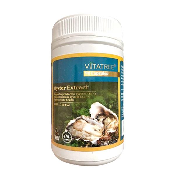 Tinh chất hàu Úc Oyster Extract Vitatree hộp 90 viên