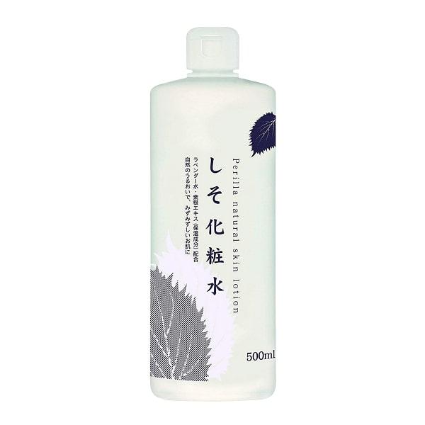 Nước hoa hồng lá tía tô Dokudami Perilla Natural 500ml Nhật Bản