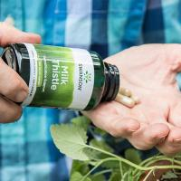Viên uống giải độc gan Swanson Milk Thistle 1000mg của Mỹ